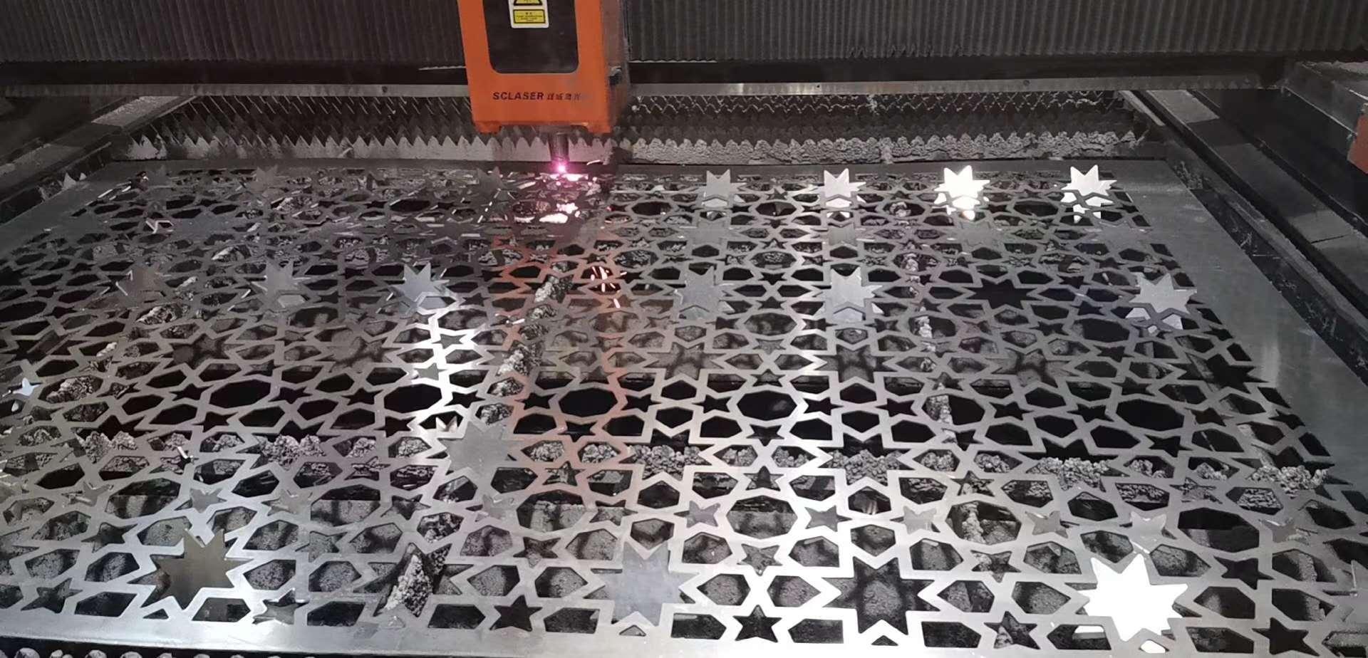 """双成激光""""一拖二自动上下料铝单板激光切割机生产线""""在广东已成功交付(图1)"""